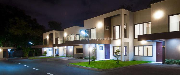 Newly Built 4 Bedroom Furnished Townhouse, Cantonments, Accra, Townhouse for Rent
