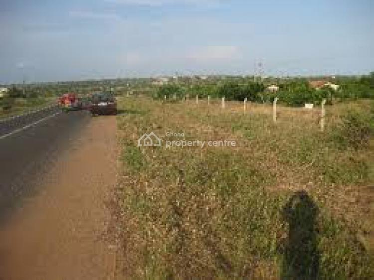 Registered & Serviced Estate Land on Akoti Akraman High Way...., Akoti Akraman Off Agona Sweduru High Way, Awutu-senya, Central Region, Commercial Land for Sale