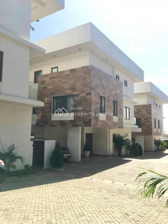 Luxury 4 Bedroom Townhouse with Boys Quarters, Airport Residential Area, Accra, Townhouse for Rent