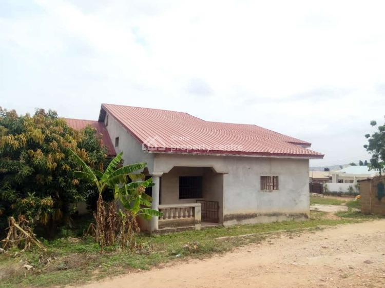 Titled Roofed 4 Master Bedroom on 2 Plots (duplex), New Aplaku, Accra Metropolitan, Accra, Detached Bungalow for Sale