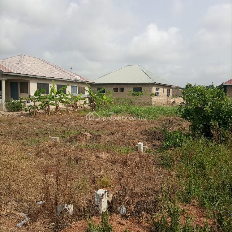 Registered Plot of Land with 2 Brm Storey Foundation & Footings, Kasoa / Buduburam, Awutu-senya, Central Region, Mixed-use Land for Sale
