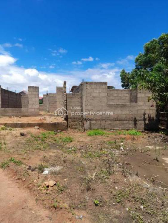 an Uncompleted Structure on 3+ Plots at Nyanyano, Kasoa, Nyanyano, Awutu-senya, Central Region, Detached Bungalow for Sale