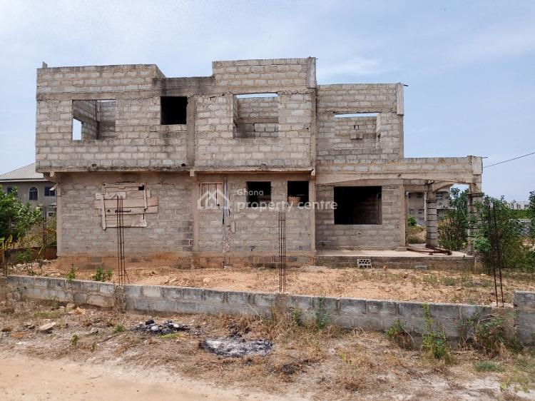 Uncompleted 9 Bedrooms, Tema Community25 Annex Near Green Estate, Dawhenya, Tema, Accra, Semi-detached Duplex for Sale