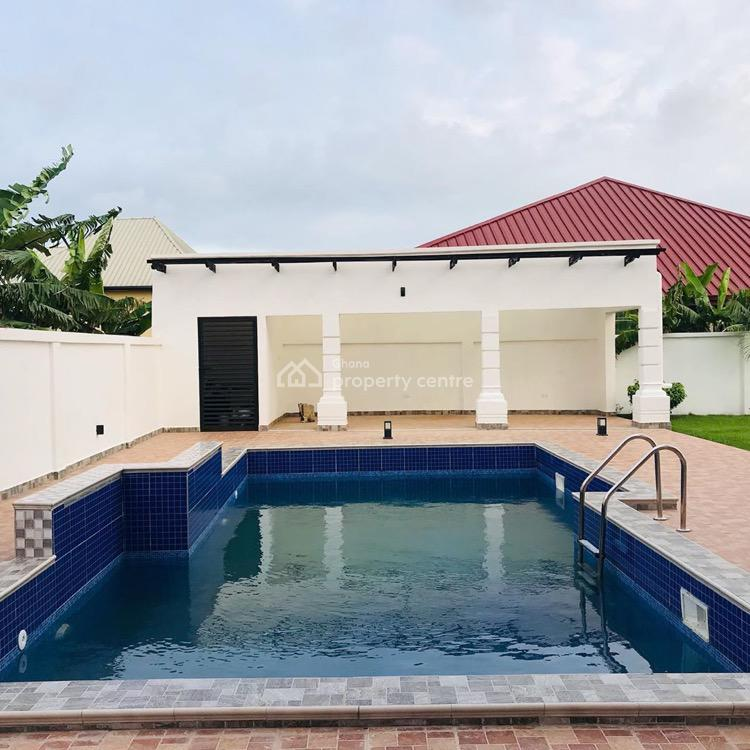 5 Bedrooms, 2 Bedrooms Quarters with Swimming Pool, Trassaco Estate East Legon, East Legon, Accra, House for Sale