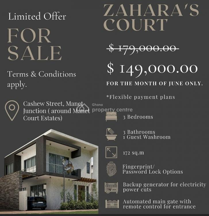 Luxury 3 Bedroom Home, Spintex, Accra, House for Sale