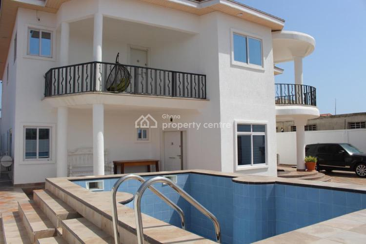 Executive Fully Furnished 6 Bedrooms Houses, American House Close to Mangoes Restaurant, East Legon, Accra, House for Sale