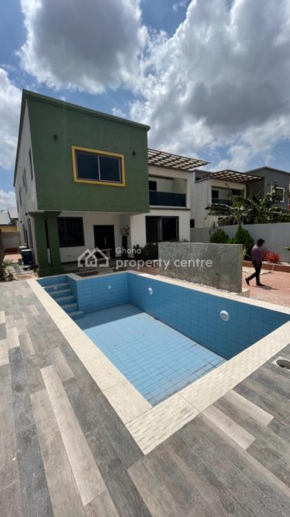 4 Bedroom Store House with Swimming Pool Now Selling, West Trasacco, East Legon, Accra, Detached Duplex for Sale