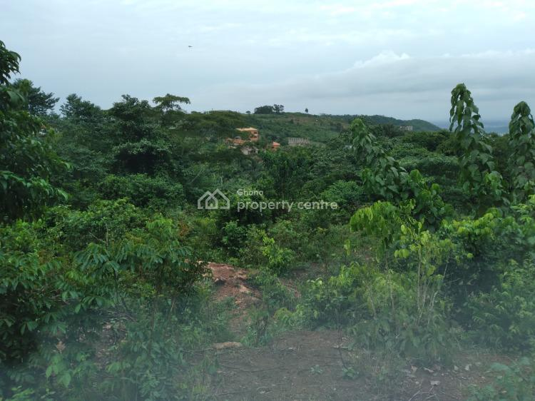 Titled Walled and Gated Litigation Free Land, Total Filling Station Junction, Aburi, Akuapim South Municipal, Eastern Region, Residential Land for Sale