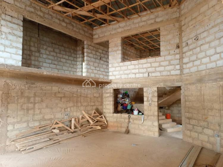 Semi Completed 6 Bedroom on a Double Plot Located at Ashiyie,adenta., Adenta Melcolm, Adenta Municipal, Accra, Detached Duplex for Sale