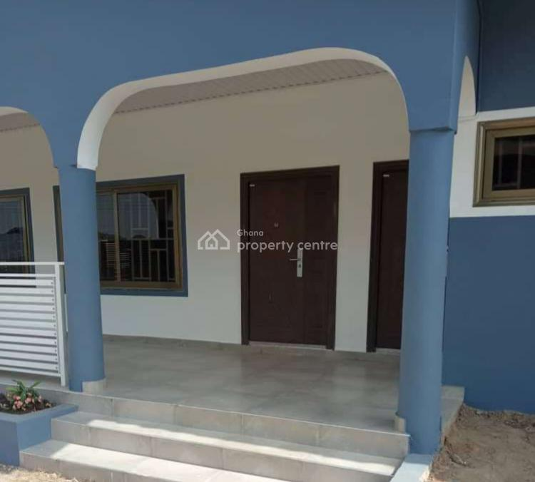 Three Bedroom House with Garage, Fise Near Pokuse, Ga West Municipal, Accra, Detached Bungalow for Rent