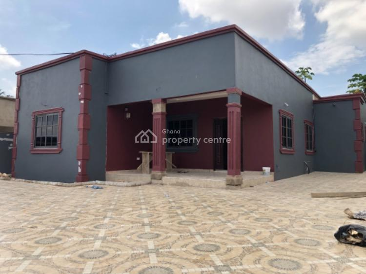 3 Bedroom House Located at School Junction,ashale Botwe., Agatha Chop Bar Road, Adenta Municipal, Accra, Detached Bungalow for Sale