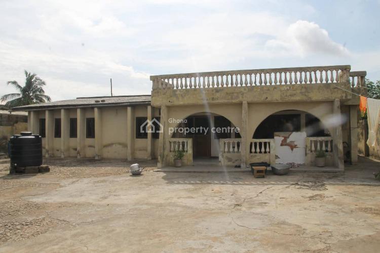 Registered 4 Bedroom House at New Market Kasoa, New Market Road Kasoa, Awutu-senya, Central Region, Detached Bungalow for Sale