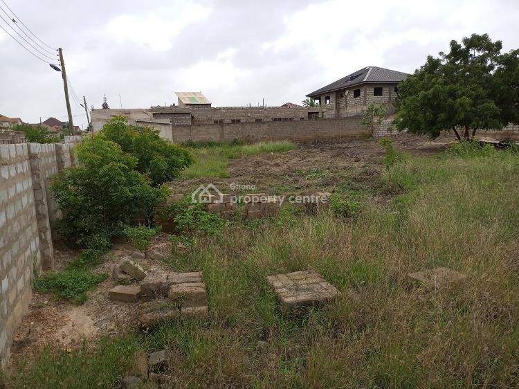 Estate Tired Roads Title 2plots of Land Walled Fence with Gate, East Legon Hills, East Legon Hills, East Legon, Accra, Residential Land for Sale