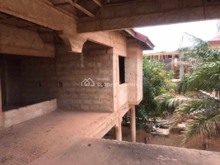 5 Bedroom Semi-detached Uncompleted House  at Comm 18 Junction, Spintex, Accra, House for Sale