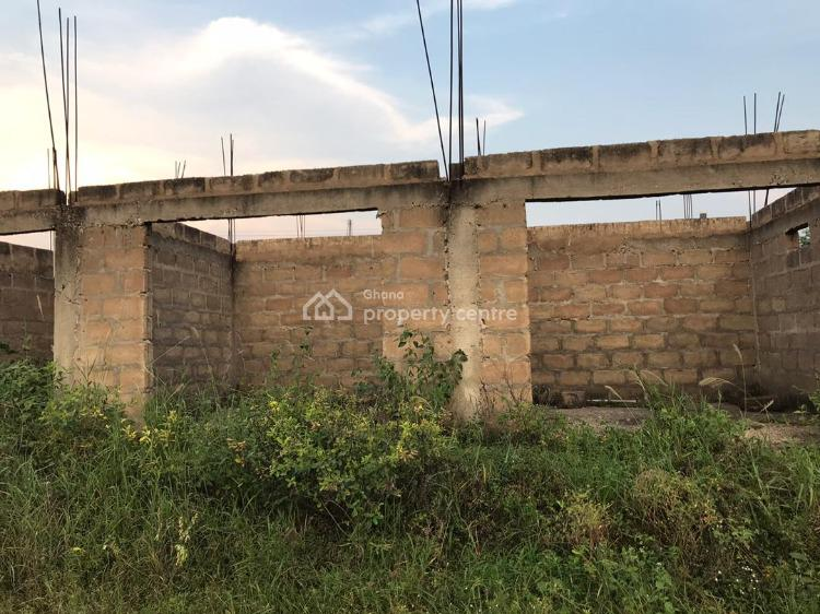 Storey Building House with Commercial Store, Oduntia Community, Amasaman, Ga East Municipal, Accra, Block of Flats for Sale