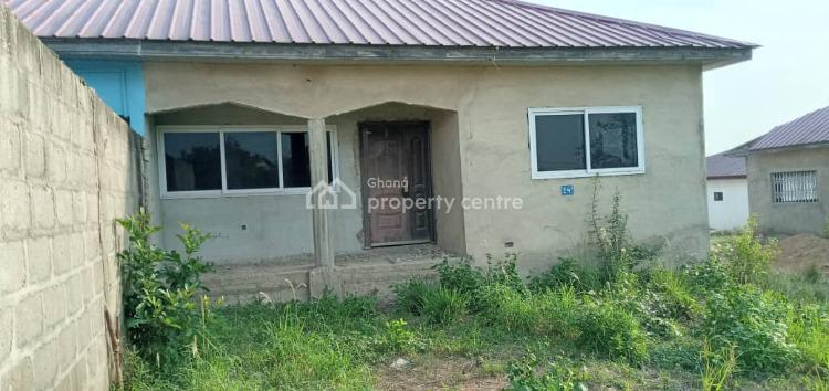 Titled & Roofed 2 Bedroom House, Fetteh Kakraba, Awutu-senya East, Central Region, Semi-detached Bungalow for Sale