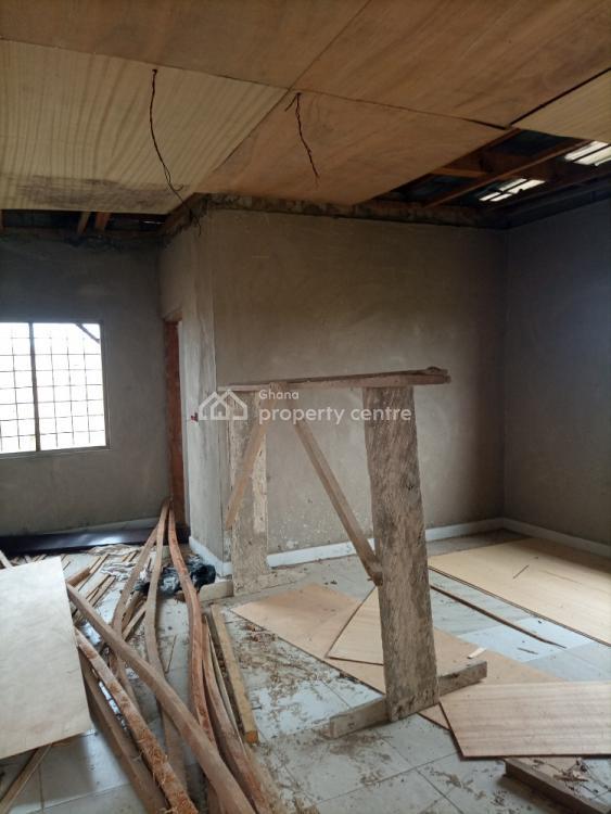 New Single Room Self Contain on 1 Plot, Nyanyano Kasoa, Awutu-senya East, Central Region, Detached Bungalow for Sale