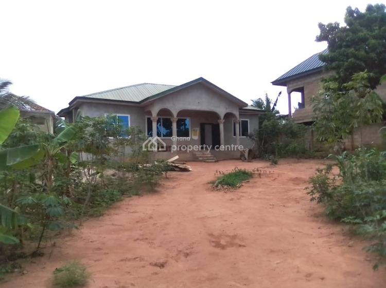 Roofed 2 Bedroom House, Broadcasting Before Kasoa Toll Booth, Accra Metropolitan, Accra, Detached Bungalow for Sale