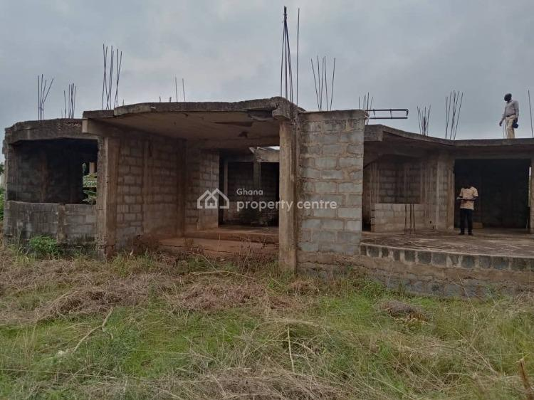 4 Bedroom Uncompleted House, Malejor ( Legon Club Village), Oyibi, Accra, House for Sale