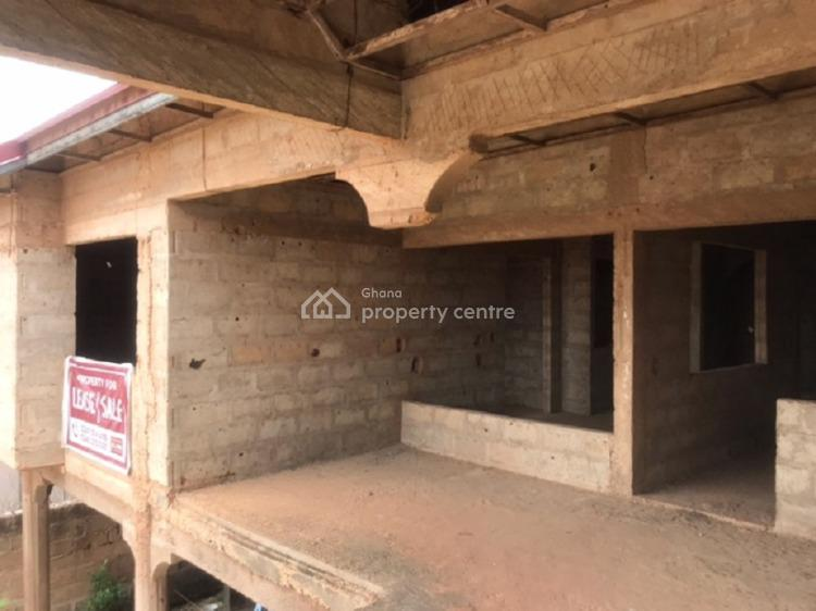 10 Bedroom Semi-detached (5 on Each Side) Uncompleted House, 2 Mins Drive From Baatsona Total, Spintex, Accra, House for Sale