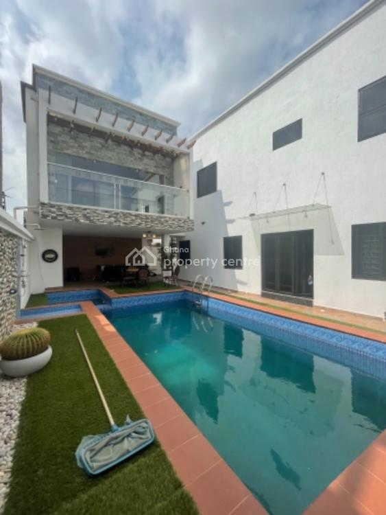 Furnished 4 Bedroom House with Swimming Pool Now Selling, East Legon Hills, East Legon, Accra, Detached Duplex for Sale