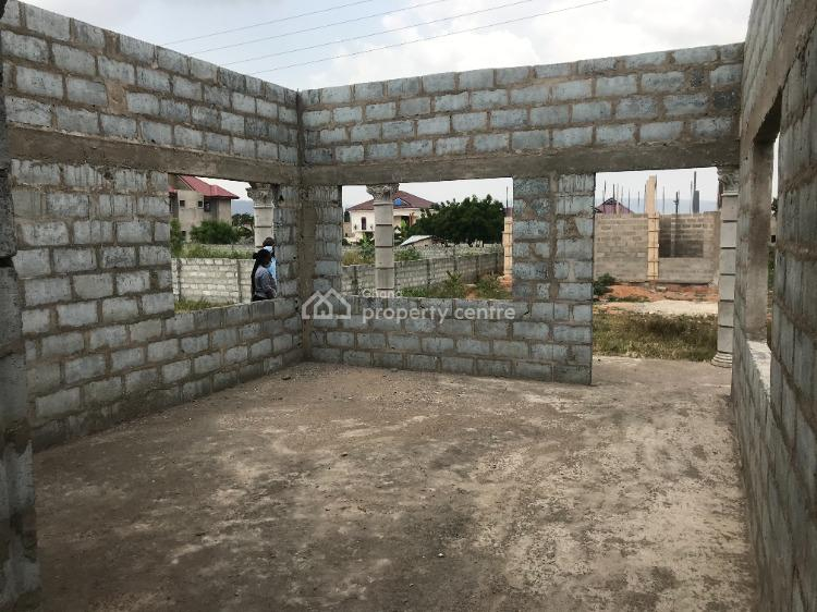 Three Bedroom Expandable Uncompleted House, Opposite Apollonia City, Oyibi, Accra, House for Sale