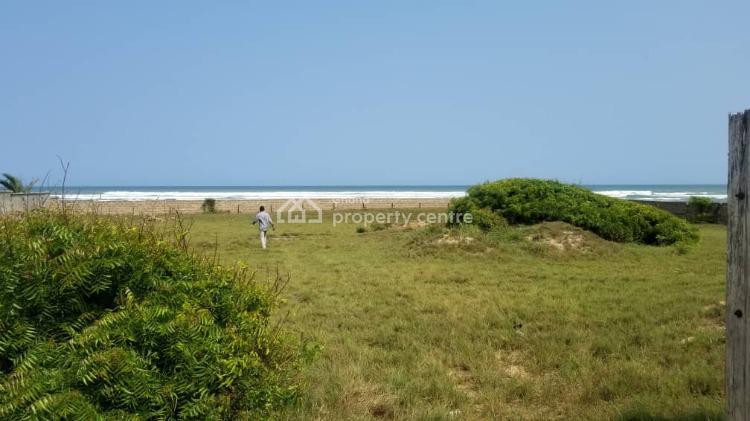 Registered Title, 4 Plots Beach Front Land Walled, Prampram, Ningo Prampram District, Accra, Mixed-use Land for Sale