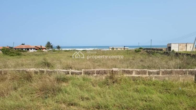 Registered Title, 16 Plots Beach Front Land Partially Walled, Prampram, Ningo Prampram District, Accra, Mixed-use Land for Sale