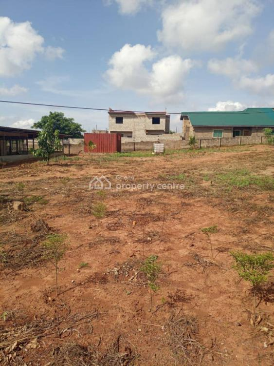 2 Plots Partially Walled, Oyibi, Accra, Residential Land for Sale
