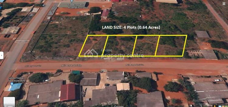 Registered Title, 4 Plots Walled, North Teshie, Ledzokuku-krowor, Accra, Mixed-use Land for Sale