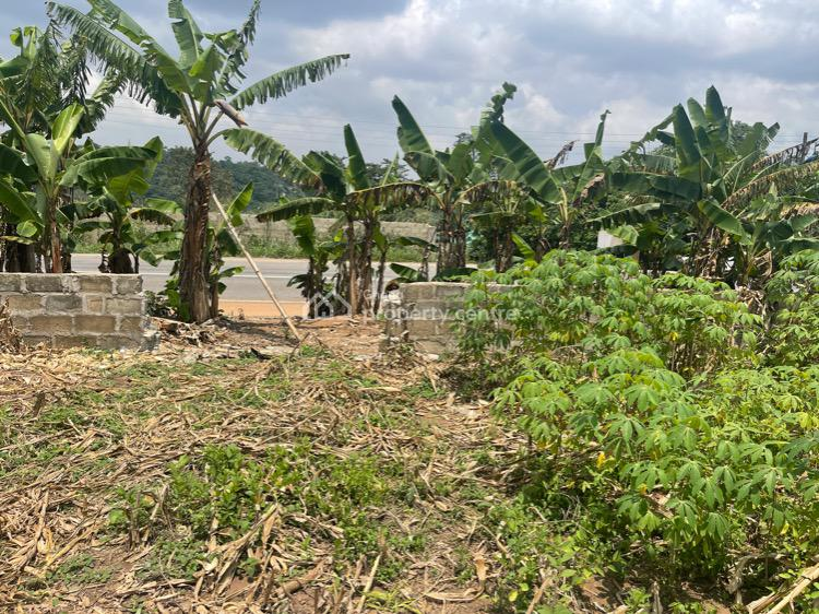 Roadside Land Now Selling, Aburi, Akuapim South Municipal, Eastern Region, Commercial Land for Sale