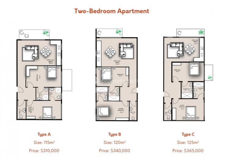 2 Bedroom Apartment, Airport Residential Area, Accra, Apartment for Sale