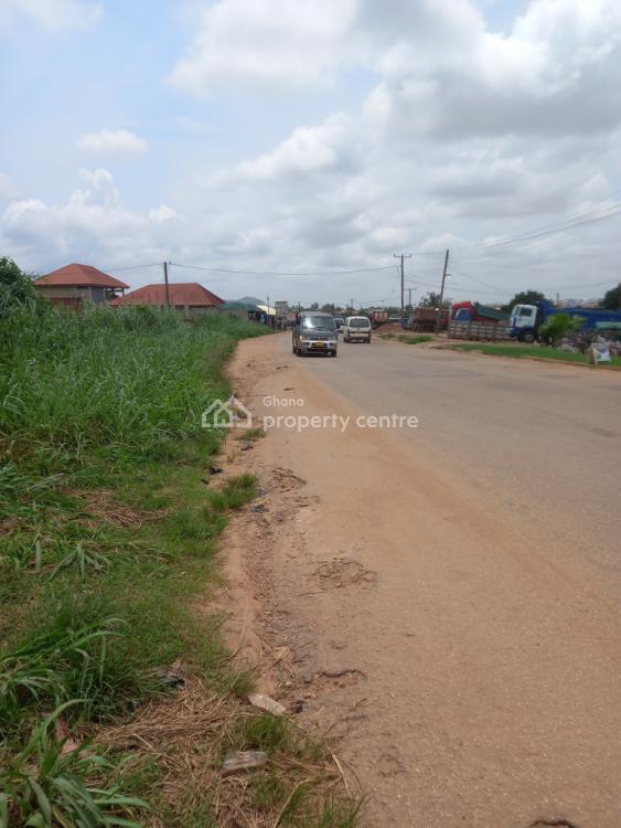 Road Side 6 Plots, Asuofia/nketia,  Abrepo Road., Kumasi Metropolitan, Ashanti, Mixed-use Land for Sale