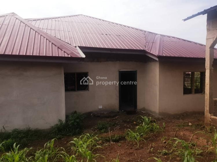 Uncompleted 4 Bedrooms House, Chinto-kumasi Road, Nsawam, Akuapim South Municipal, Eastern Region, Terraced Bungalow for Sale