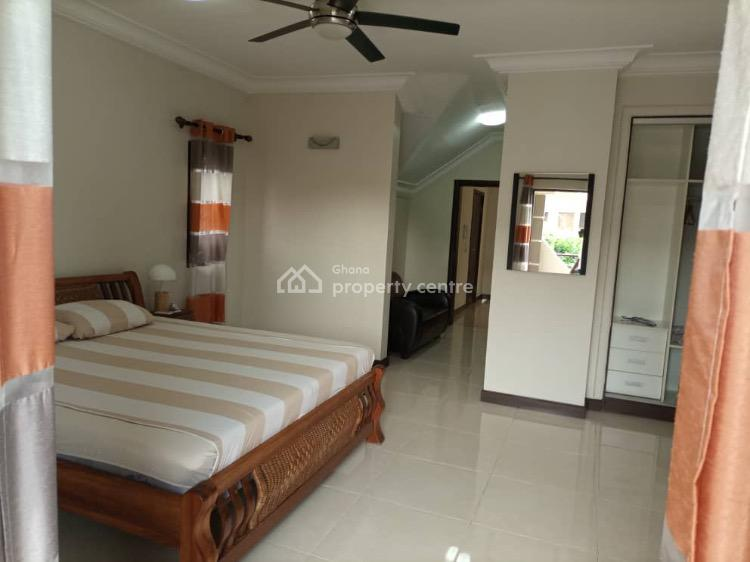 Modern 3 Bedrooms Self Compound Furnished House, Tema Beach Road, Lawrounds Agency, Nungua East, Accra, Townhouse for Rent