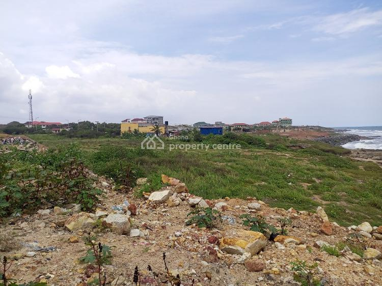 Front View Beach 8 Acres of Roadside Land, Teshie, Teshie-nungua Estates, Accra, Commercial Land for Sale