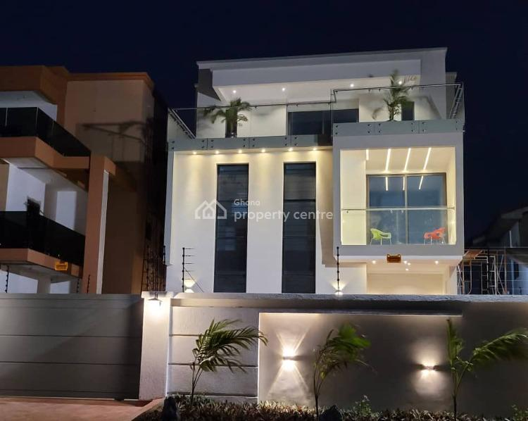 6bedroom Selfcontain En-suite on a Three Storey Building Luxiriuos Hou, American House, East Legon, Accra, House for Sale