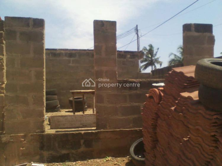 Titled 5brm House Plus 3 Shops at Telecom, Gbawe, Telecom Gbawe, Ga West Municipal, Accra, Detached Bungalow for Sale
