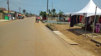 1 Plot of Roadside Land, Michel Camp., Mataheko, Tema, Accra, Land for Sale