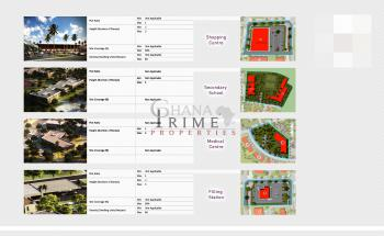 Luxury Development Commercial Serviced Land, Oyibi, Accra, Commercial Land for Sale