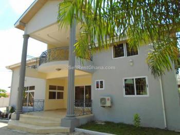 5 Bedroom House + 2bq, Adjiringanor, East Legon, Accra, Detached Duplex for Rent