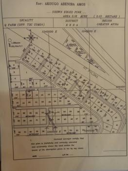 1plot on Foundation in Com24 Tdc, Tema Community24 Behind Legon Hills, Tema, Accra, Residential Land for Sale