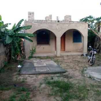 Registered Completed 2 Bedroom with Concrete Flow, New Ashongman, Ga West Municipal, Accra, Detached Bungalow for Sale