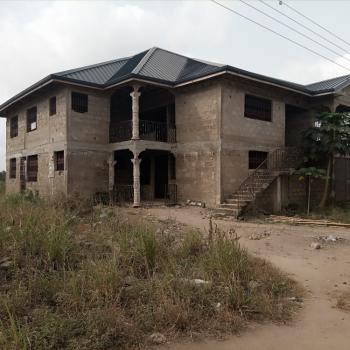 Roofed 8 Master Bedroom of 3 Apartments Storey on 2 Plots, Kasoa / Domiabra / Asabahan, Awutu-senya East, Central Region, Detached Duplex for Sale