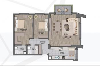 2 Bedroom Apartment, Cantonments, Cantonments, Accra, Apartment for Sale