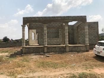 Three Uncompleted Bedroom House with Quarter Plot of Land, Right Opposite Appolonia City, Oyibi, Accra, House for Sale