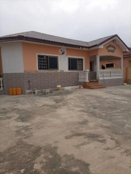 Executive 3 Master Bedroom House with 2 Kitchens & Cctv Camera, Kasoa Nyanyano, Awutu-senya East, Central Region, Detached Bungalow for Rent