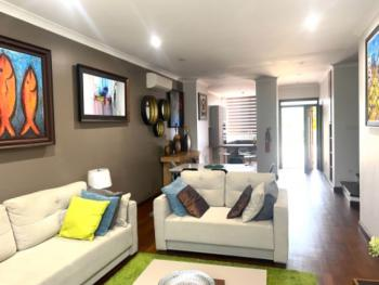 Luxury 3 Bedroom Furnished Townhouse, Kanda Estate, Accra, Townhouse for Rent