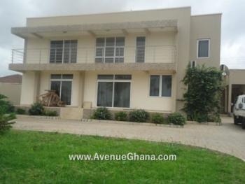 5 Bedroom House with 2 Bedroom Outhouse, Near Lister Hospital, East Airport, Airport Residential Area, Accra, Terraced Duplex for Rent
