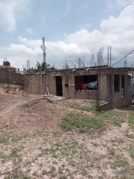 2 Master Brm House on with Storey Foundation at Anyaa Nic, Anyaa Nic, Ga West Municipal, Accra, Detached Bungalow for Sale